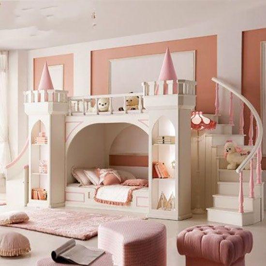 Desain Kamar Anak Perempuan Tema Cinderella Mrd Tempat Tidur Tingkat Kamar Anak Perempuan Kamar Tidur Anak Perempuan