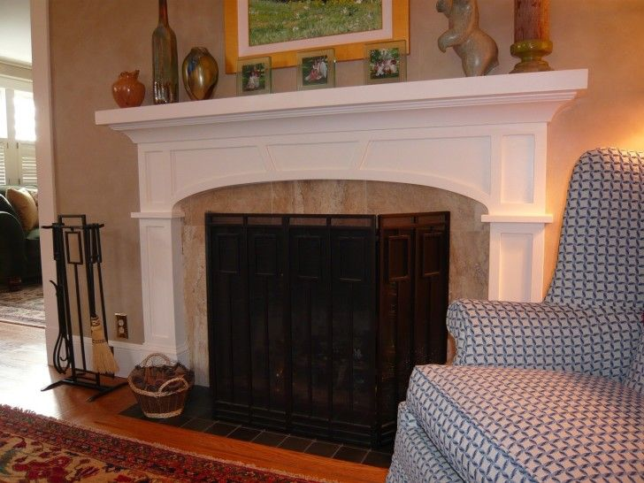 image result for stained and painted fireplace surrounds and
