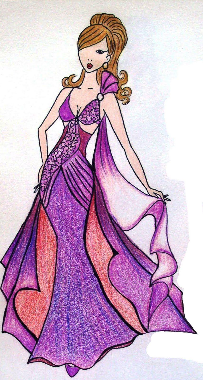 figurines de vestido - Buscar con Google | disenos de moda ...