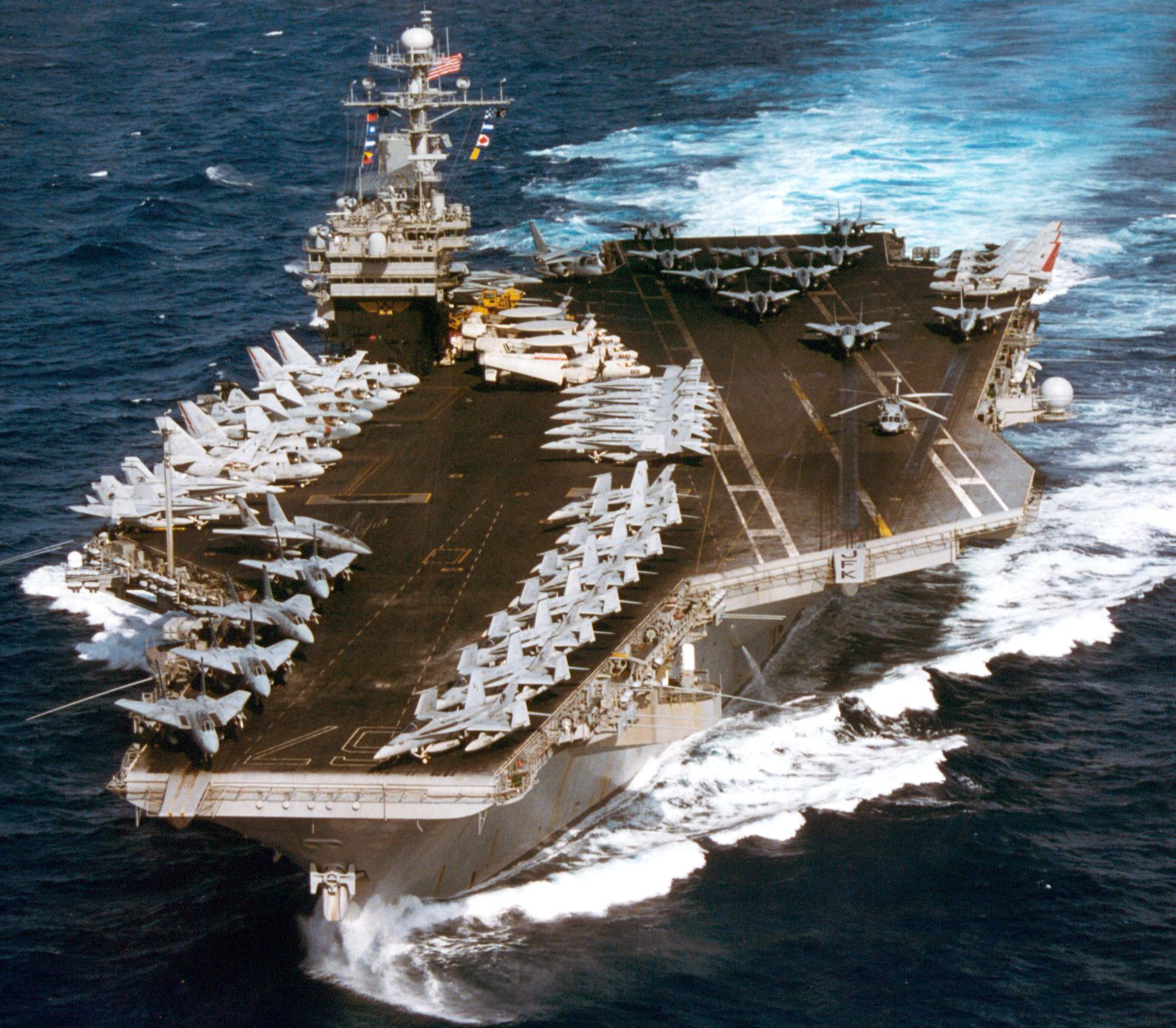 CV 67 USS John F Kennedy December 1996 Military
