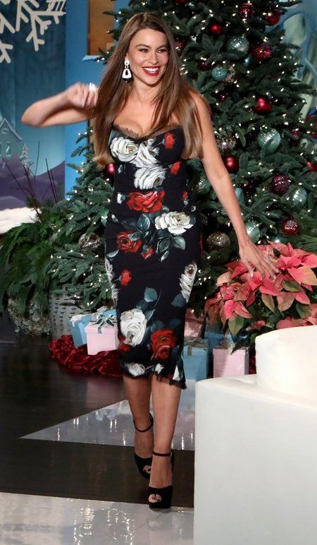 Sofia Vergara in Dolce   Gabbana makes an appearance on  The Ellen  DeGeneres Show .  bestdressed 03dad1d83