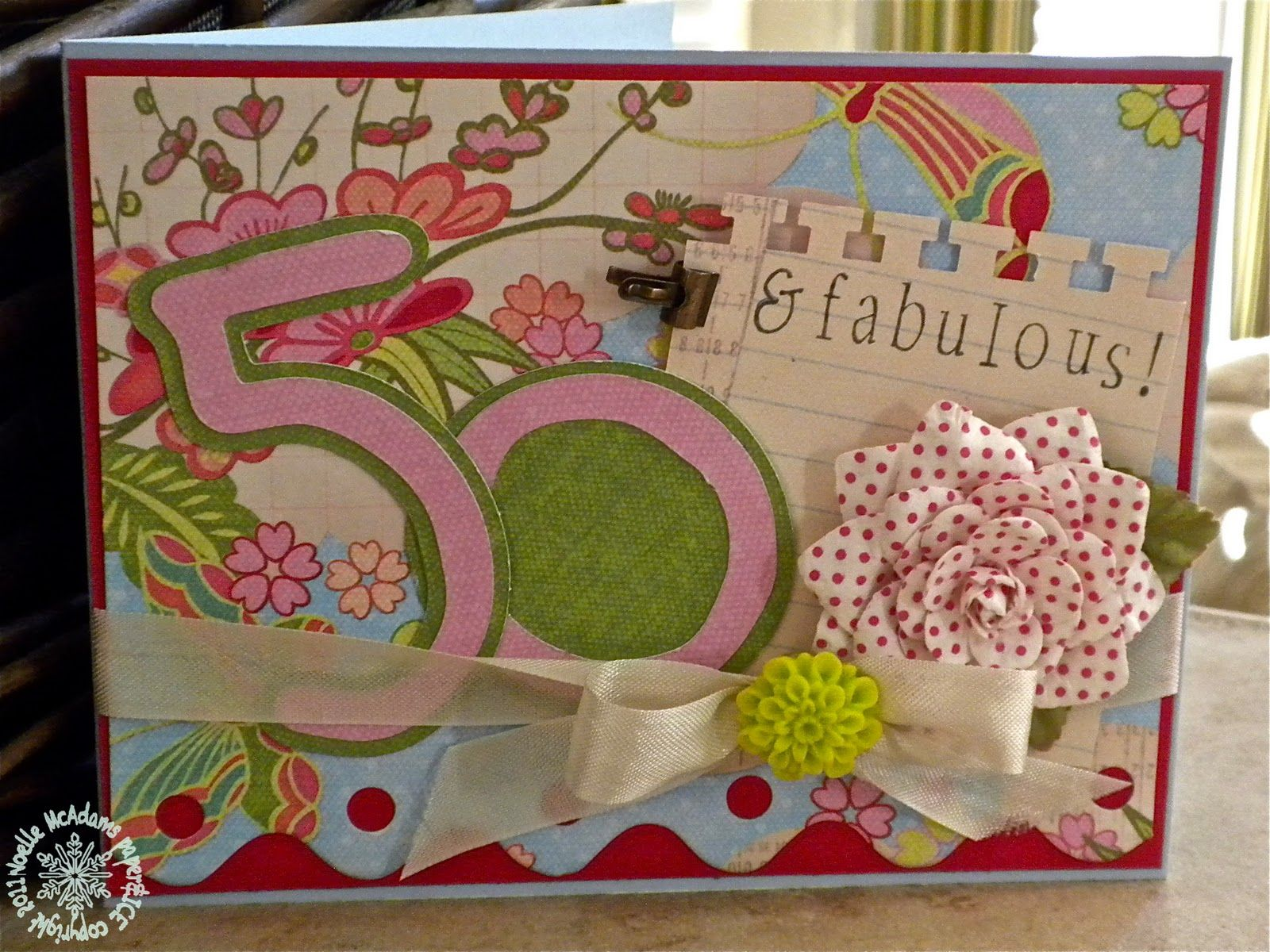 50th birthday SURPRISE for my aunt Happiness