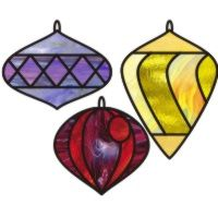 Christmas Glass Ornament Pattern Stained Patterns For You