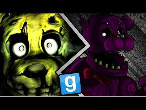 Gmod Five Nights at Freddy's Spring Trap, Purple Freddy