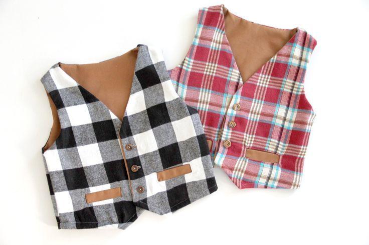 Free Vest Pattern | Nähideen, Nähen baby und Nähen