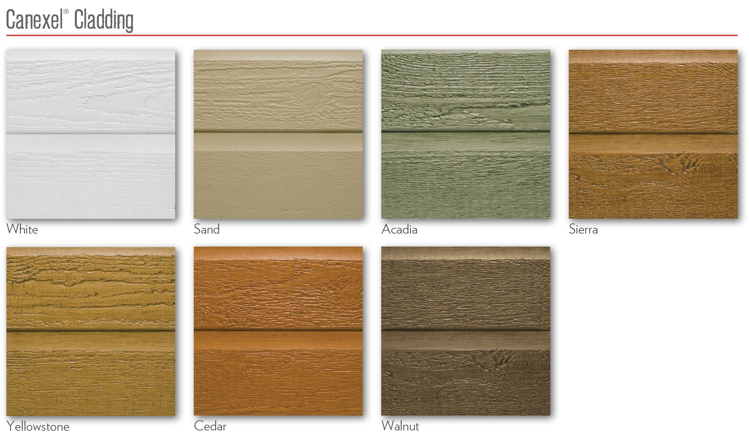 Canexel Cladding Options Available From Victory Leisure Homes