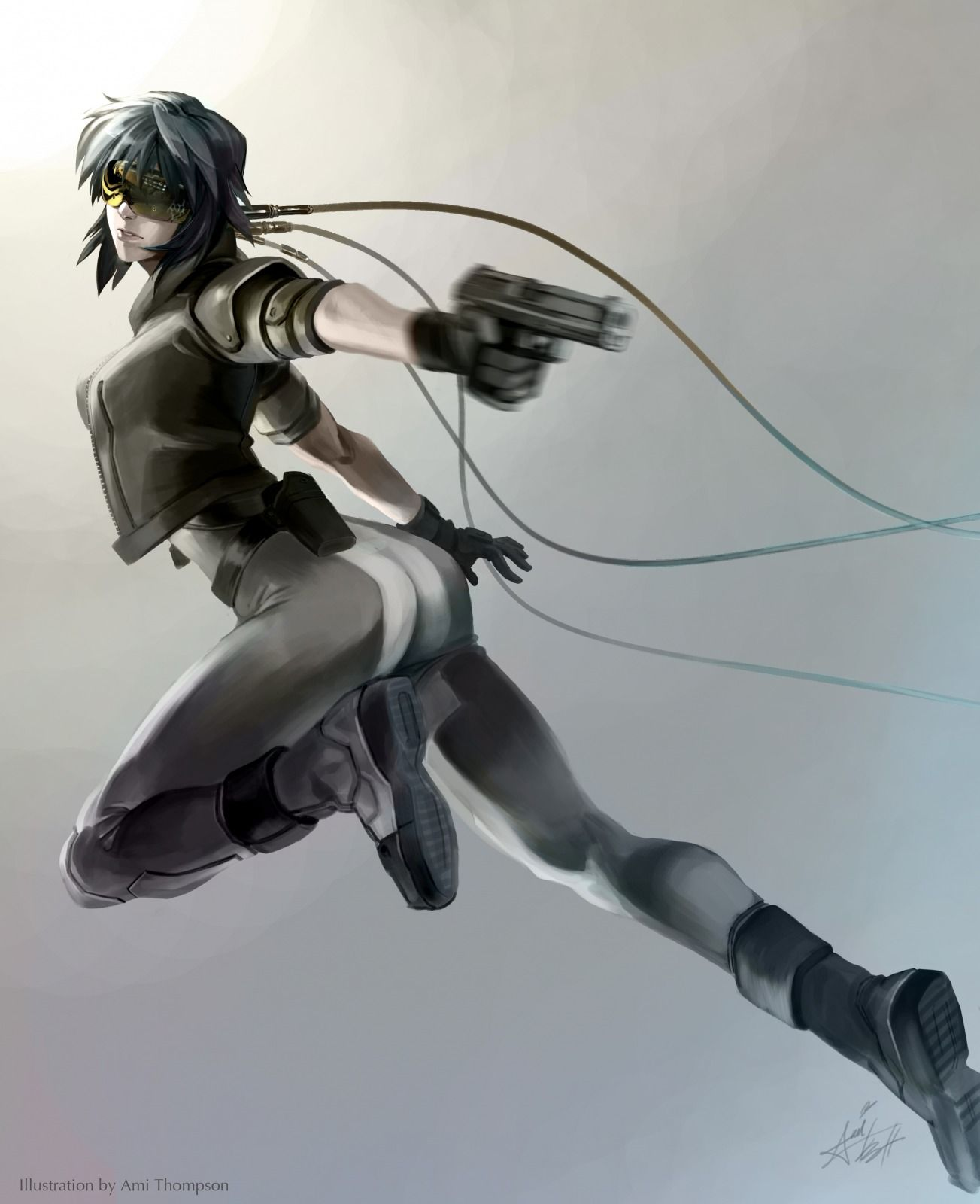 Ghost In The Shell Picture Big By Ami Thompson Pekepeke0 Ghost In The Shell Anime Ghost Anime