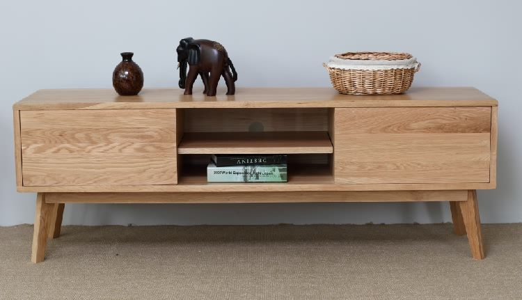 Japanese style solid wood tv cabinet coffee table cabinet white oak tv  cabinet all solid wood. Japanese style solid wood tv cabinet coffee table cabinet white
