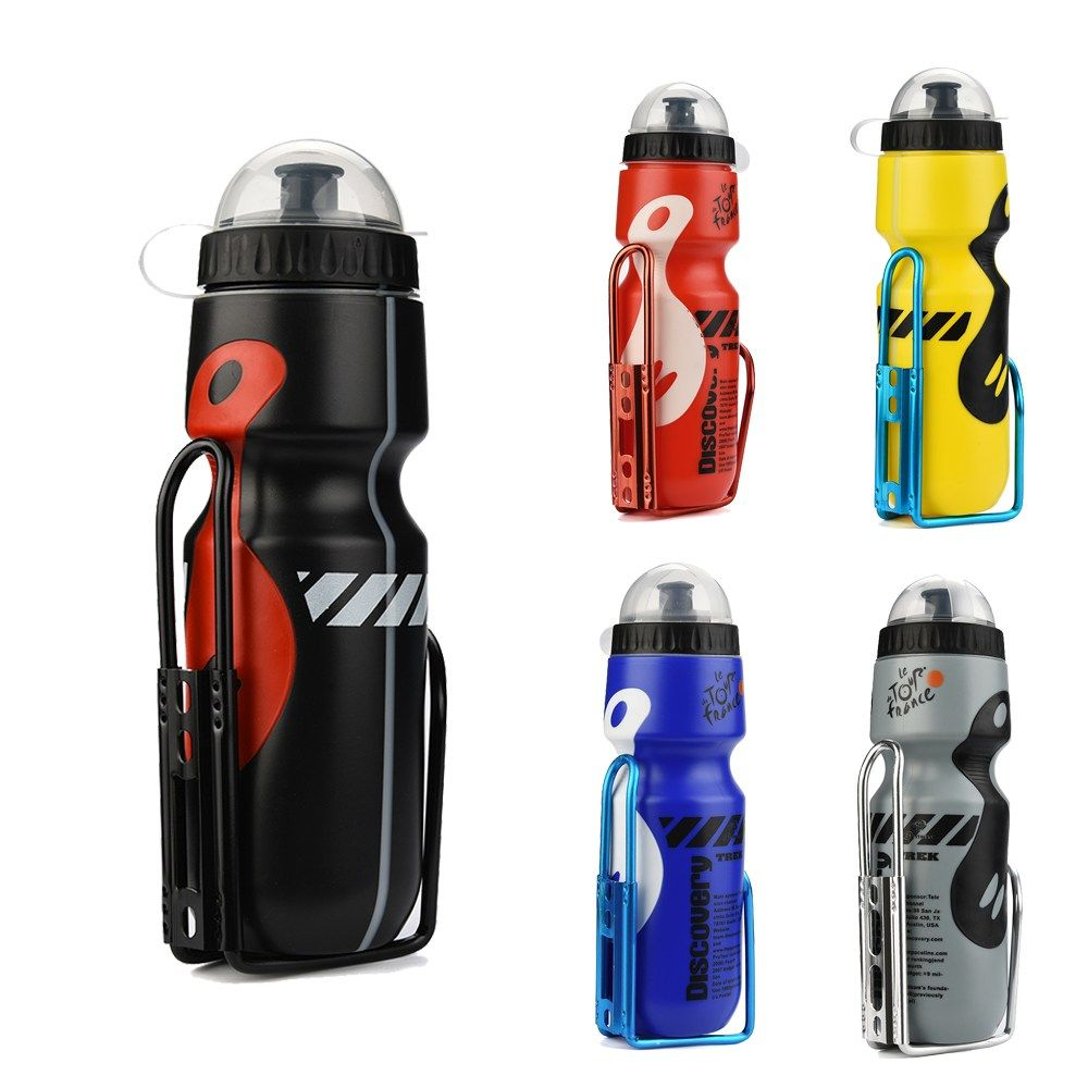 Cycling Mountain Bike Plastic Water Bottle Drinks Holder Cages Out  Door Drin GS