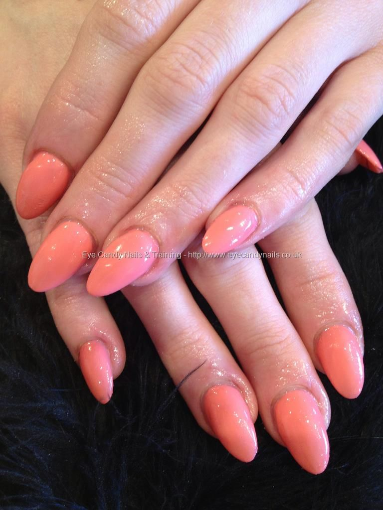 Nice Almond Shaped Nails | Nails | Pinterest | Almonds, Peach and ...