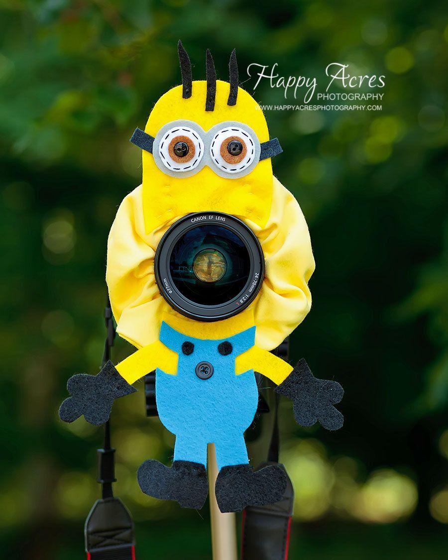 Lens Bling - Minion - Ready to Ship. $21.00, via Etsy.
