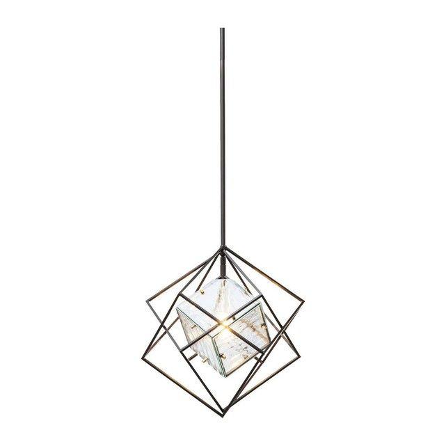 Suspension Prisma Ice cube 41cm Kare Design
