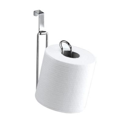 Interdesign Metalo Over The Tank Toilet Paper Holder In Chrome 01352cx The Home Depot Toilet Paper Holder Toilet Paper Toilet