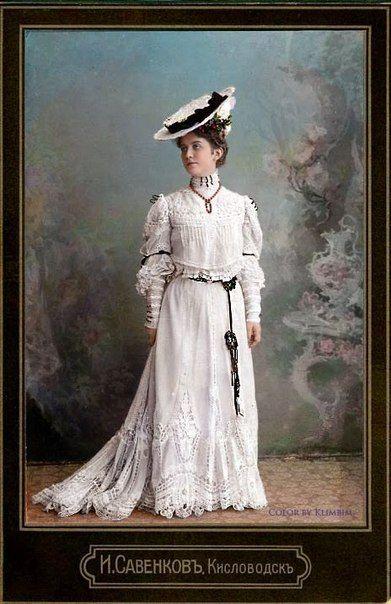 Платье для девочек 19 века
