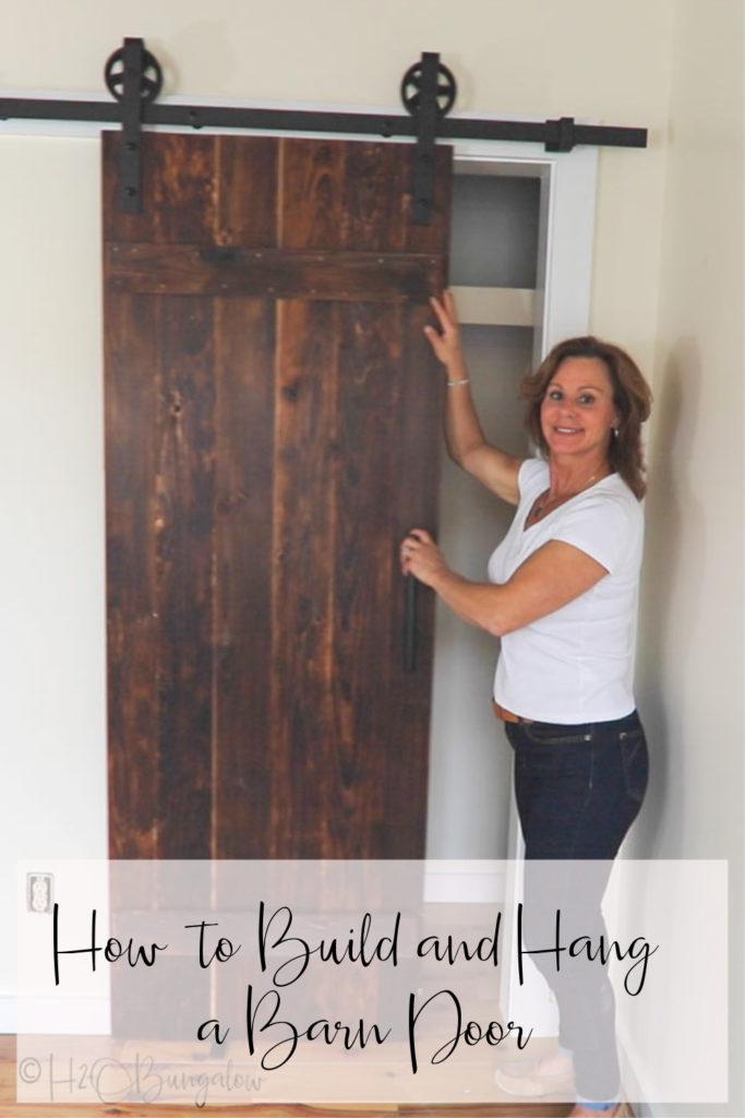 Making A Barn Door Door Plan Diy Door Barn Door Designs