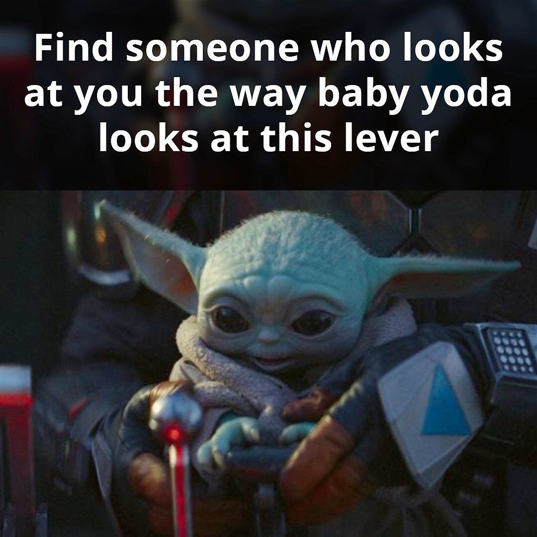 Your Daily Dose Of Baby Yoda On Instagram Tag Who Can Relate Dankmemesdaily Memelife Memes Babyyod Yoda Funny Yoda Meme Star Wars Memes