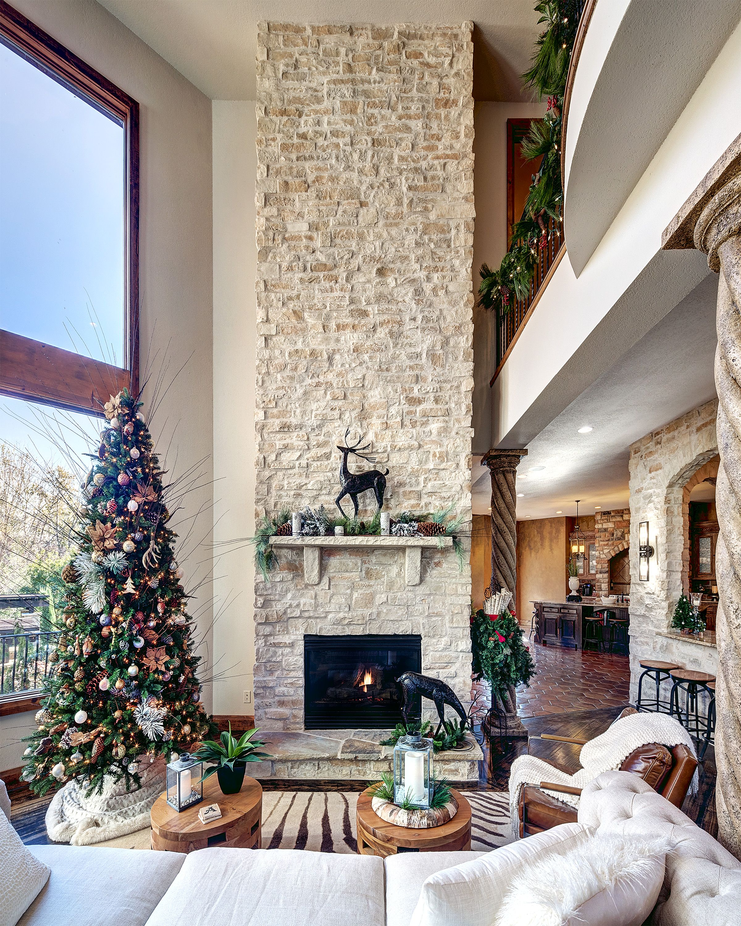 indoor project idea for your fireplace profile canyon ledge stone