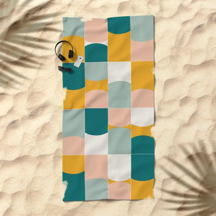 Vivid Tiles 01 #Beach #Towels by #designdn #Worldwide #shipping #society6 #pattern available at society6.com/designdn Just one of millions of high quality products available. #homedecor #interiordesign #dormdecor #dormgoals #shopping #buyart #bathroom #bathroomdecor #beachtowels #beach #beachlife #lifestyle #decoration #giftideas #patterndesign #findyourthing #walltiles #bold #geometric #midmod