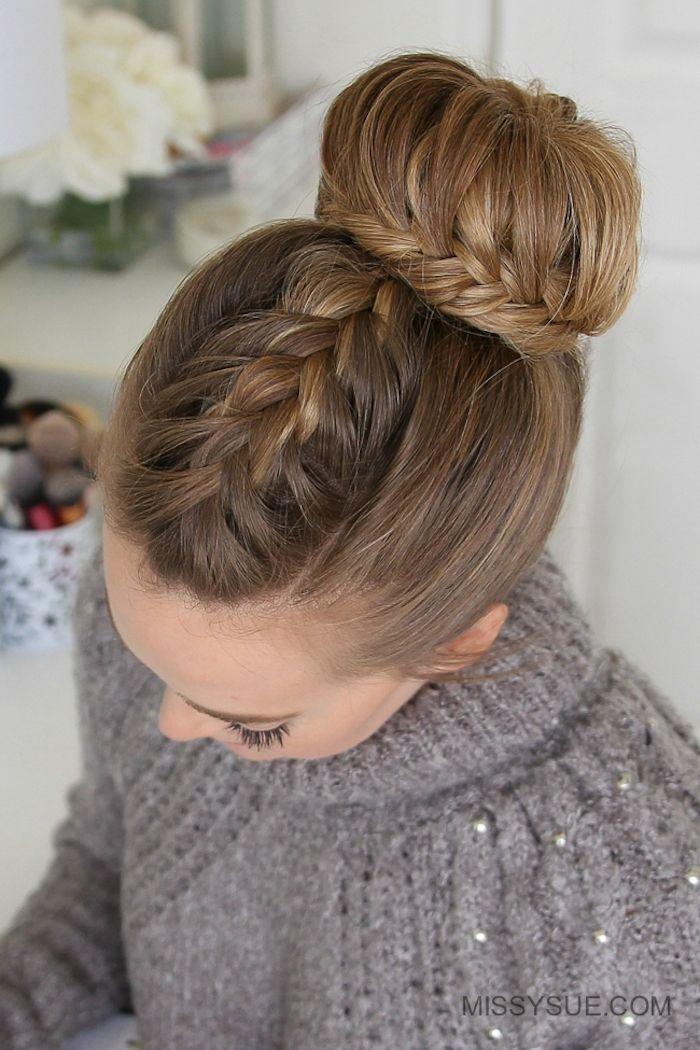 ▷ 1001 + ideas e instrucciones para maravillosos peinados de graduación