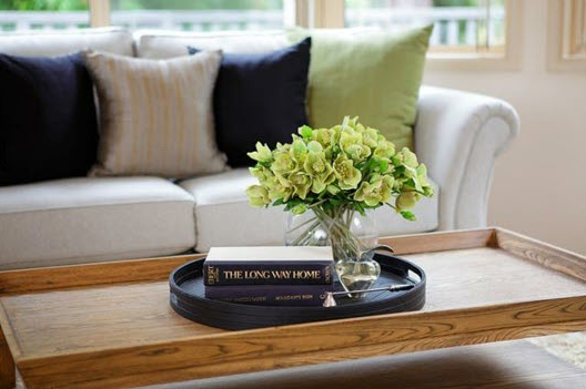 how to decorate a coffee table tray Google Search