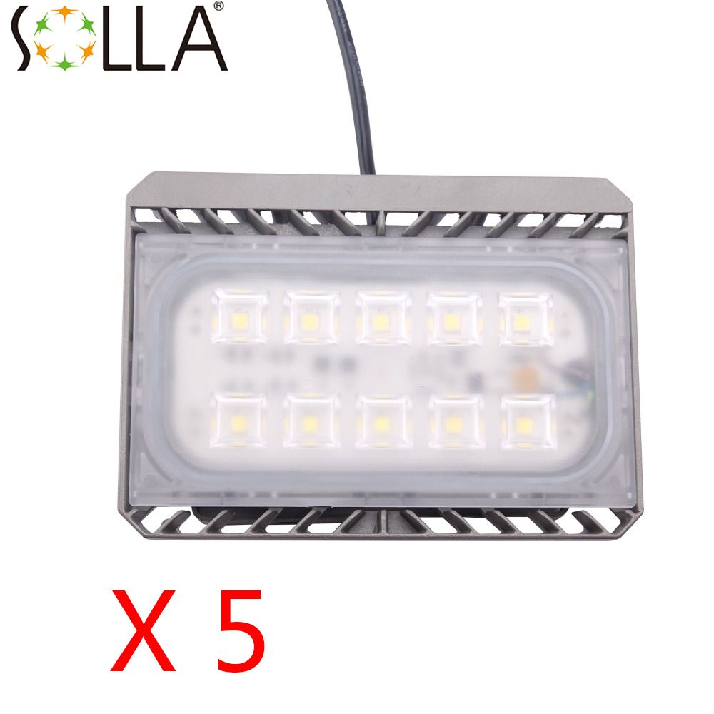 5pcs Lot 50w Ac100 240v Led Flood Light Us Uk Eu Plug Waterproof Ip65 Thin Reflector Floodlight Garden Spotlight Outdoor La With Images Outdoor Lamp Led Flood Flood Lights