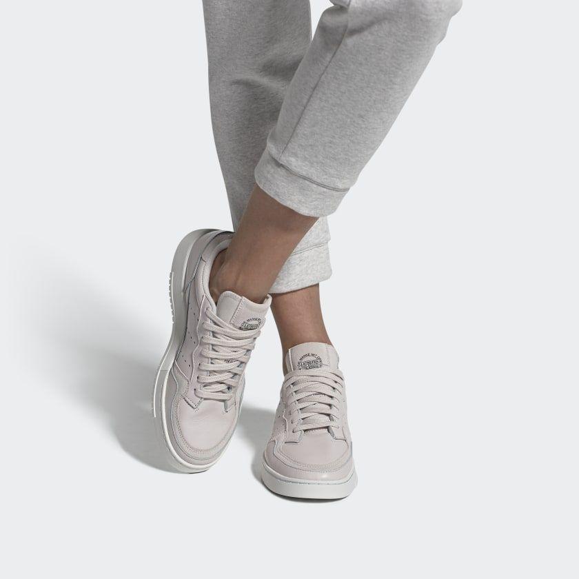 Adidas Originals Supercourt Women's Pink from Jd Sports on 21 Buttons