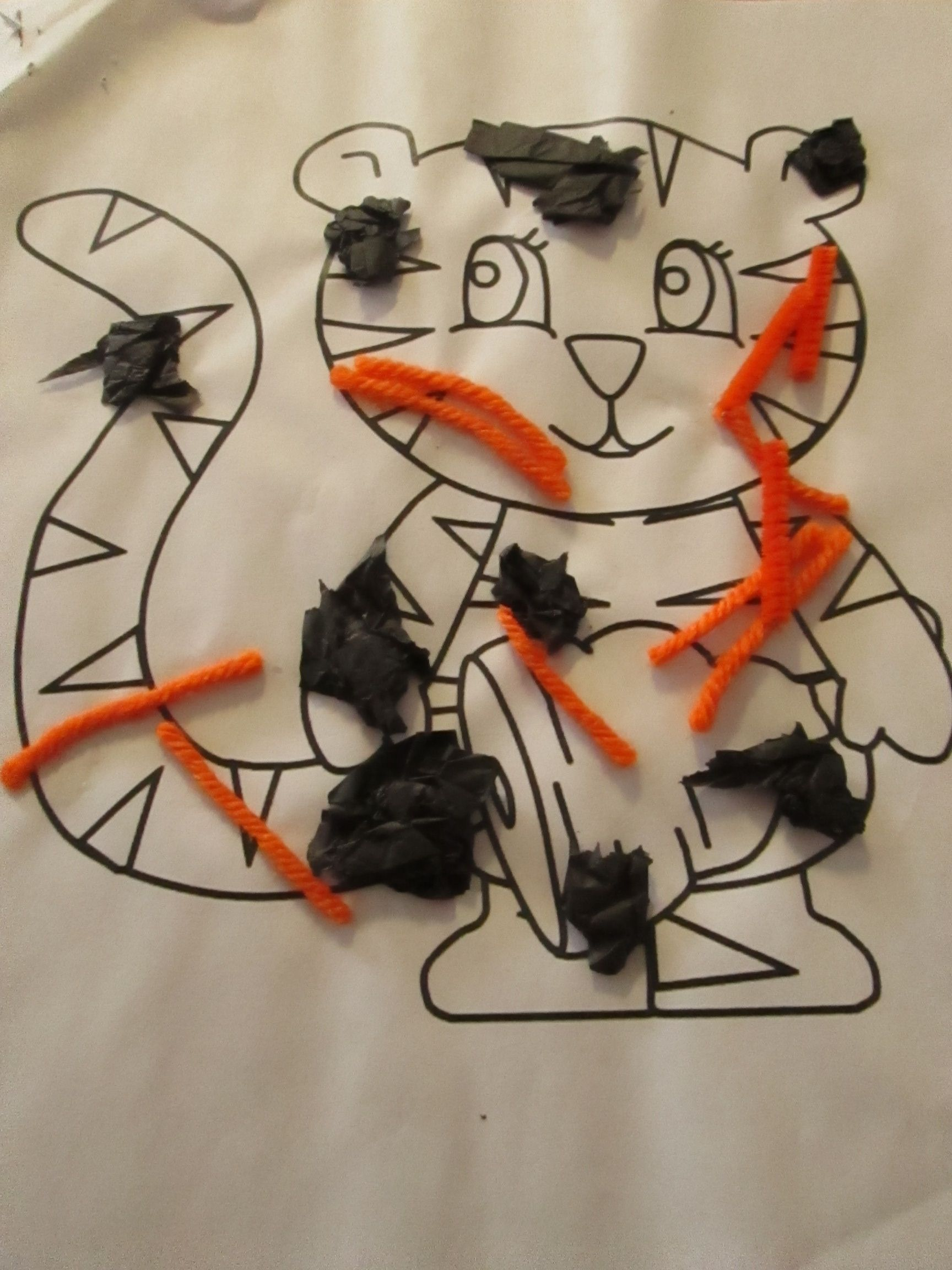 T Is For Tiger This Simple Art Project Is Useful For