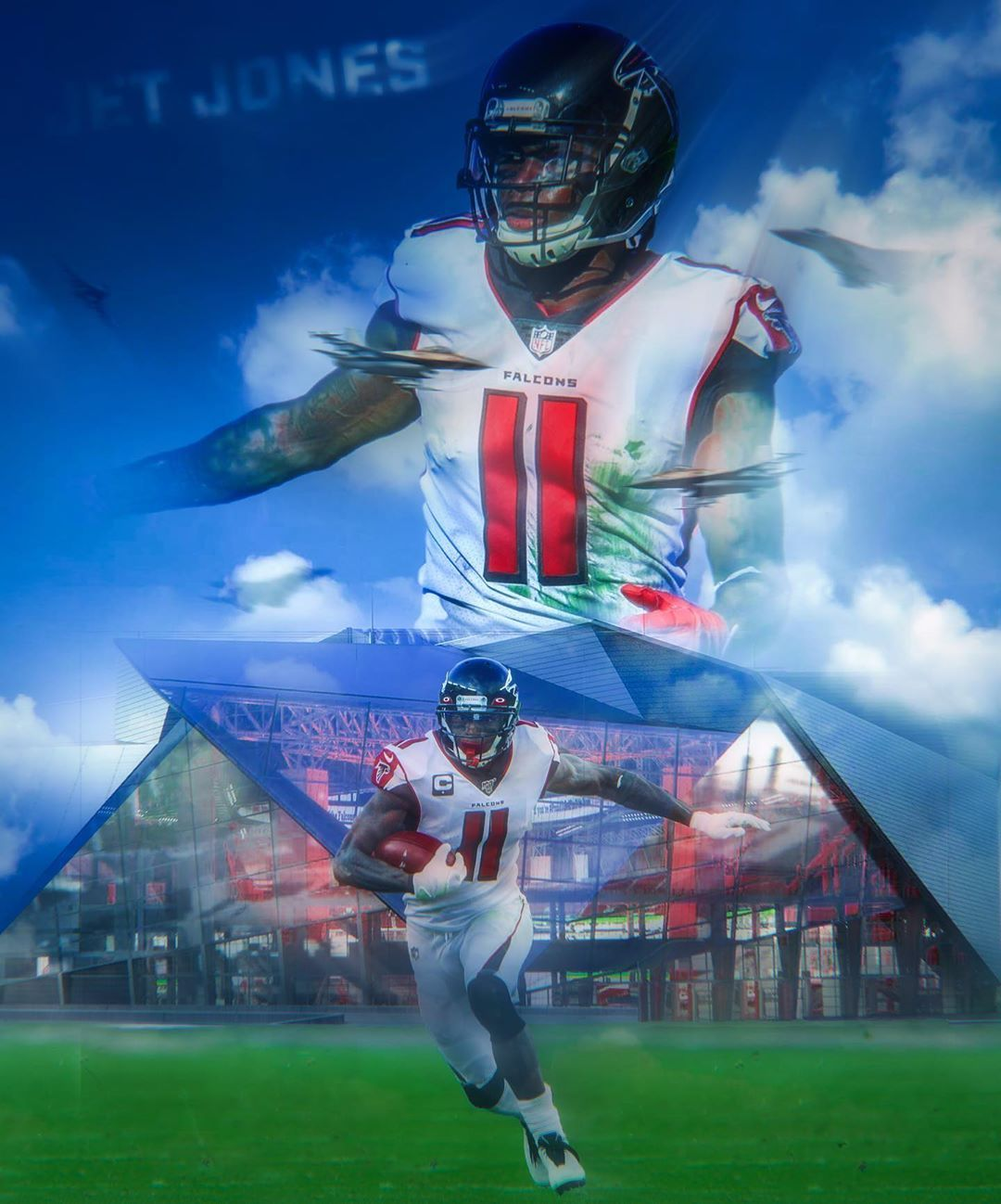 Falcons Source On Instagram Jet Jones How Do You Think Juliojones 11 Will Perform This Year In 2020 Julio Jones Instagram Atlanta Falcons