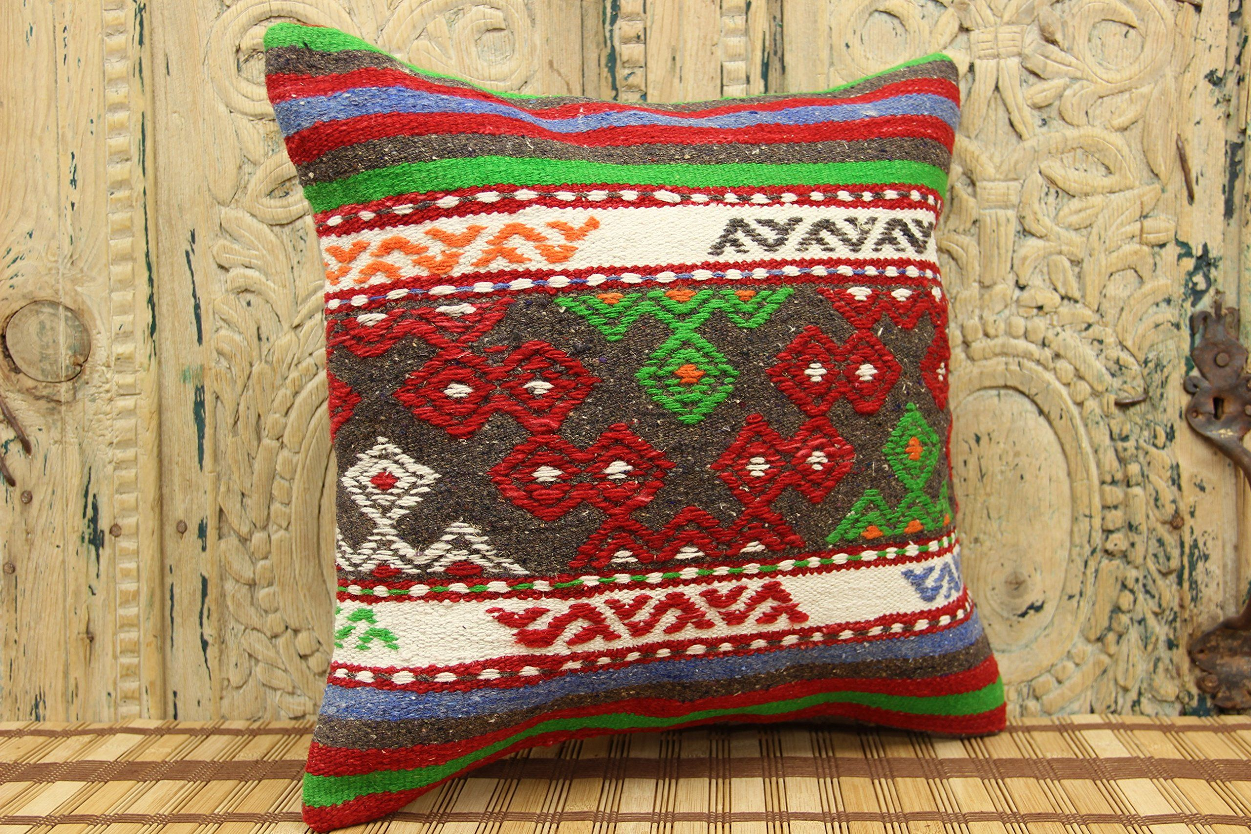 detail pillows lumbar cover kilim pillow
