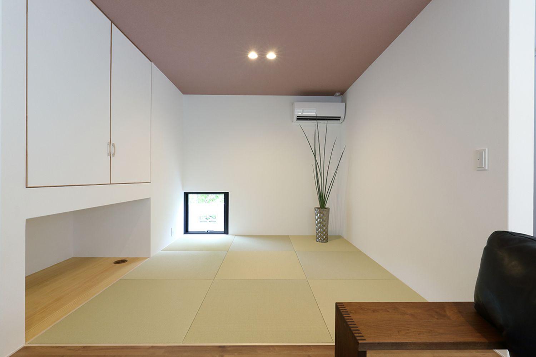 Green House ナガタ建設の写真集 収納 アイデア リビング 和室 戸