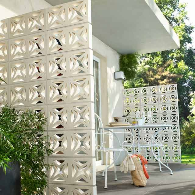 claustra corfou 20 x 40 x 5 cm claustra pinterest claustra castorama et claustra exterieur. Black Bedroom Furniture Sets. Home Design Ideas
