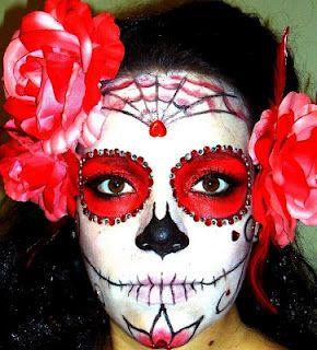 TerriblyLovely.com: DIY Día De Los Muertos Costume!