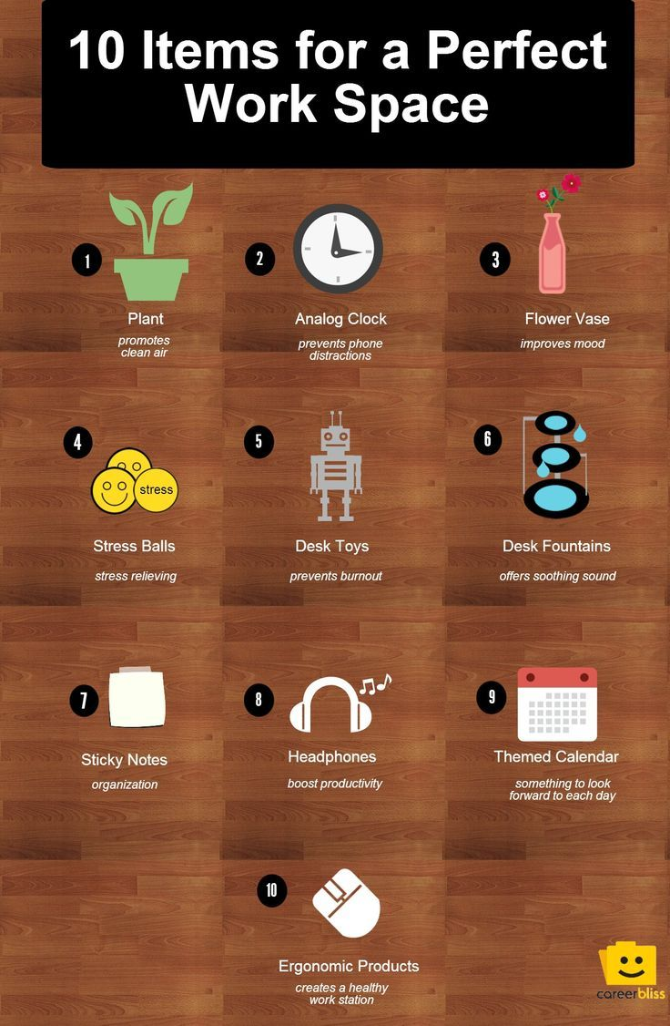 10 Desk Items To Create The Perfect Working Environment