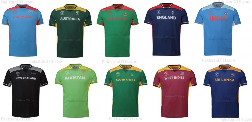 Official Cricket World Cup 2019 Kits Are Up For Sale Cricket World Cup World Cup Pakistan