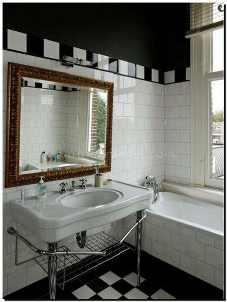 spiegel op maat in badkamer | badkamer spiegel ideeen | Pinterest