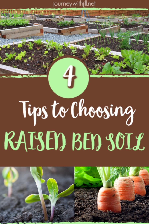 4 Tips In Raised Garden Bed Soil Preparation Raised Garden Bed