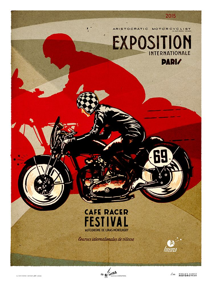 "aristocraticmotorcyclist: ""…. exhibitions in June in France. Contact me for more informations. """