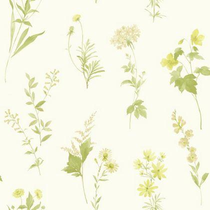 Opera Botanical Wallpaper
