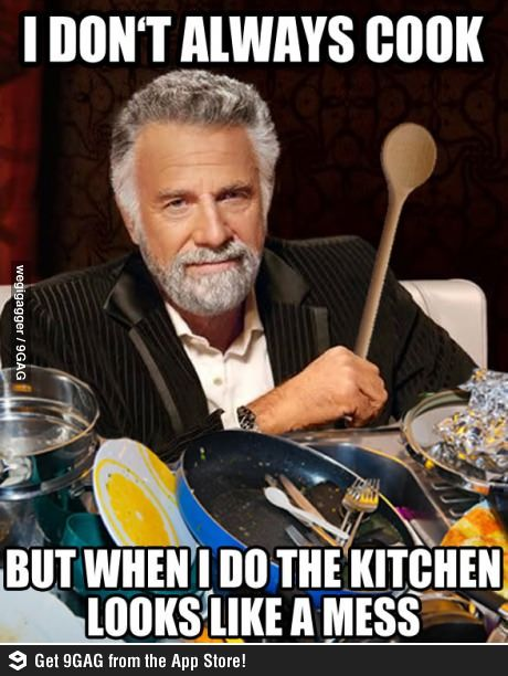 Man Cooking Meme
