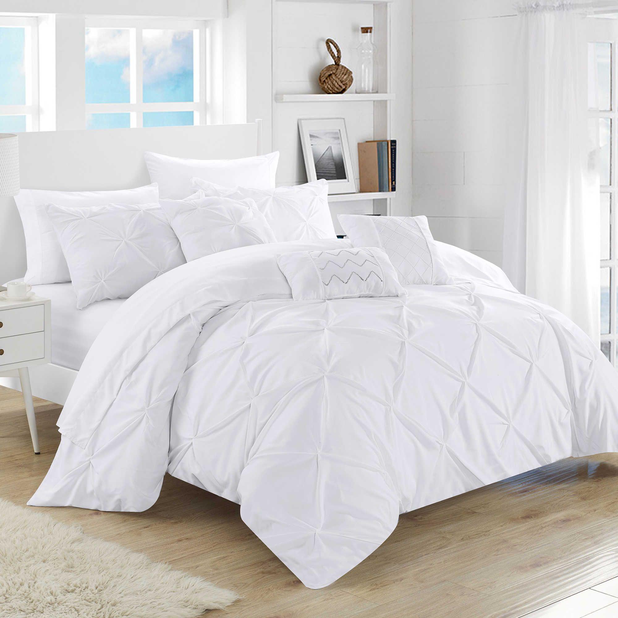 Chic Home Salvatore 10-Piece Comforter Set   NYC Apartment   Ruffle ...