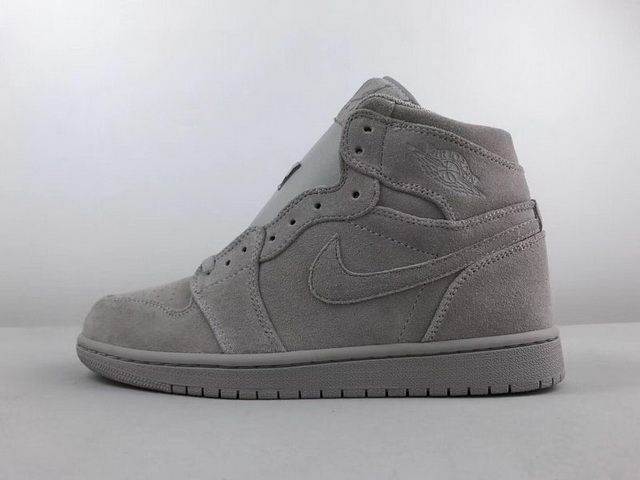 huge selection of 3a2fb 7d8c6 Cheapest Men Nike Air Jordan 1 Retro High Medium Grey For Sale