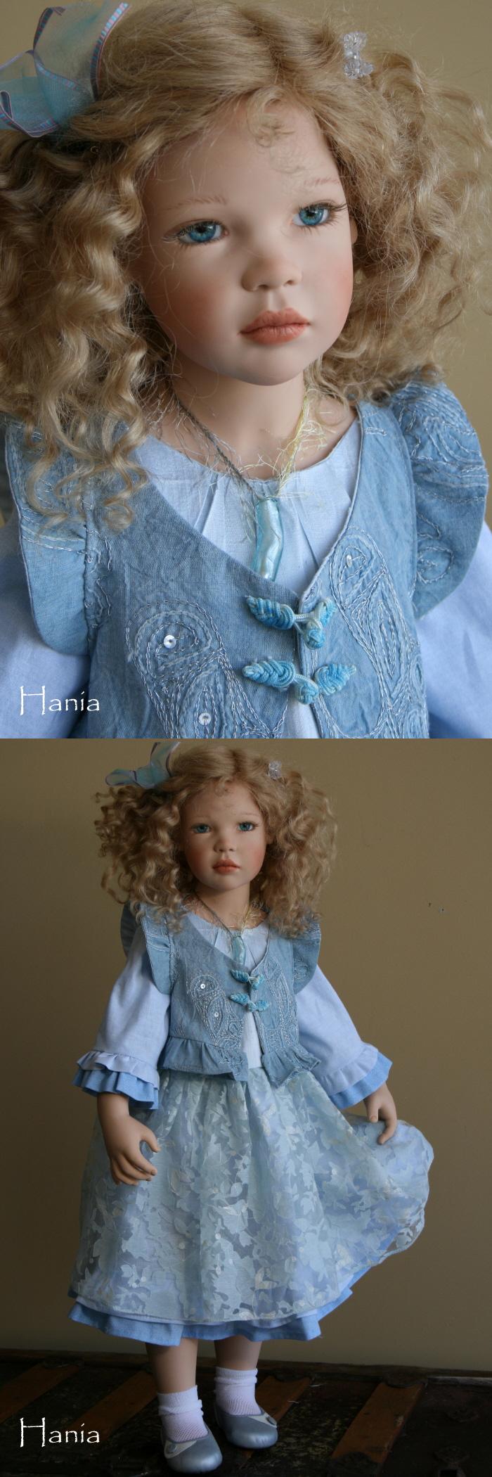 "Zawieruszynski - ""Hania"" - 2009  29 inches tall Vinyl Doll"