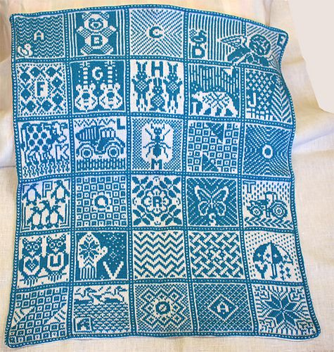 Norwegian Alphabet Blanket pattern by Jorid Linvik | Ravelry ...