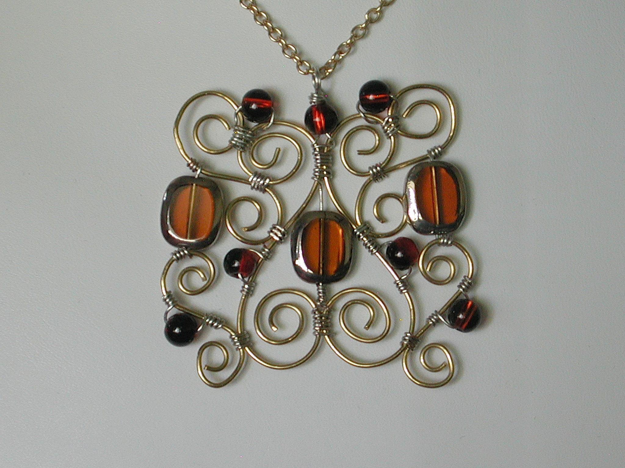 Handmade Wire Jewelry Design Ideas - Nilza.Net