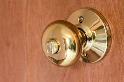 How to Unlock a Locked Bathroom Door Doors Door knobs and