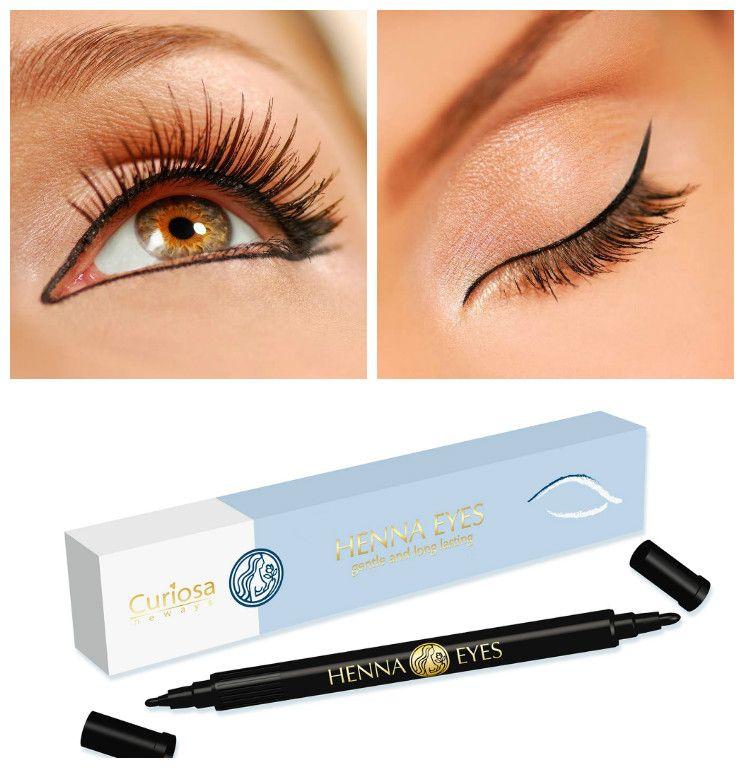 Henna Eyes Eyeliner Semi Permanent Au Henne Makeup Makeup