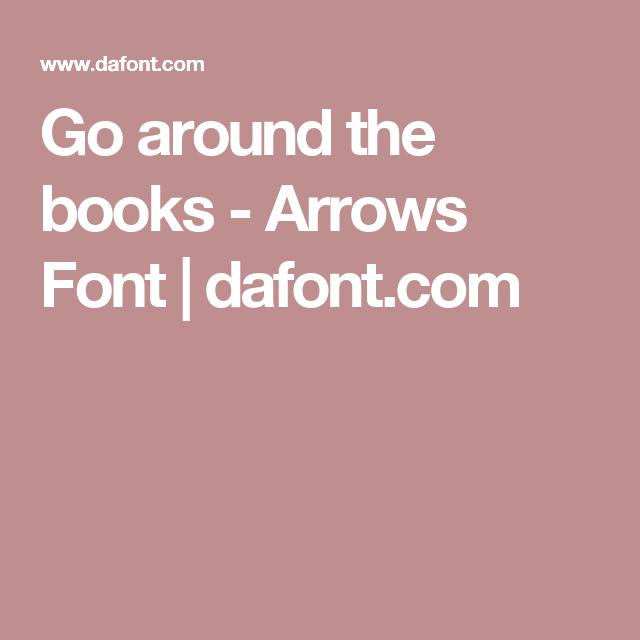 Go around the books – Arrows