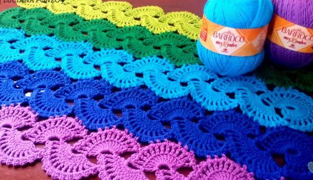 modelli tappeto Crochet ~ Patterns gratuiti