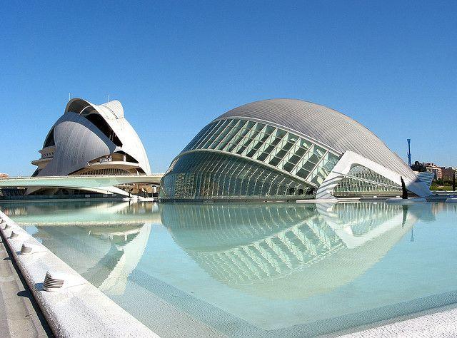 Ciudad de las Artes y de las Ciencias #valencia #spain #arte #ciencia