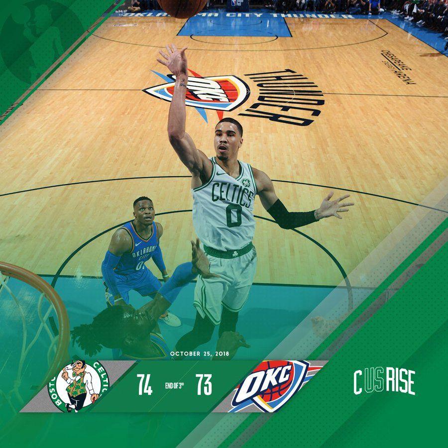 102518 Celtics Dream Closet Jayson Tatum Basketball Court